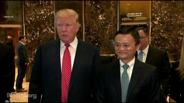 Trump Great Meeting With Jack Ma About Jobs