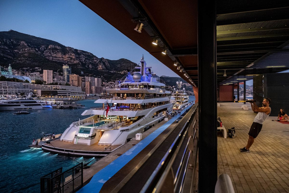 Super-Yachts Converge on Monaco as Hotel Room Prices Skyrocket