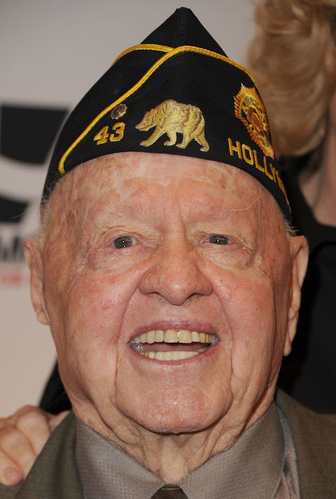 Actor Mickey Rooney