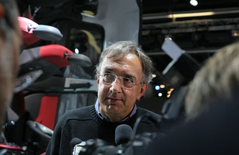 Chrysler Group LLC CEO Sergio Marchionne