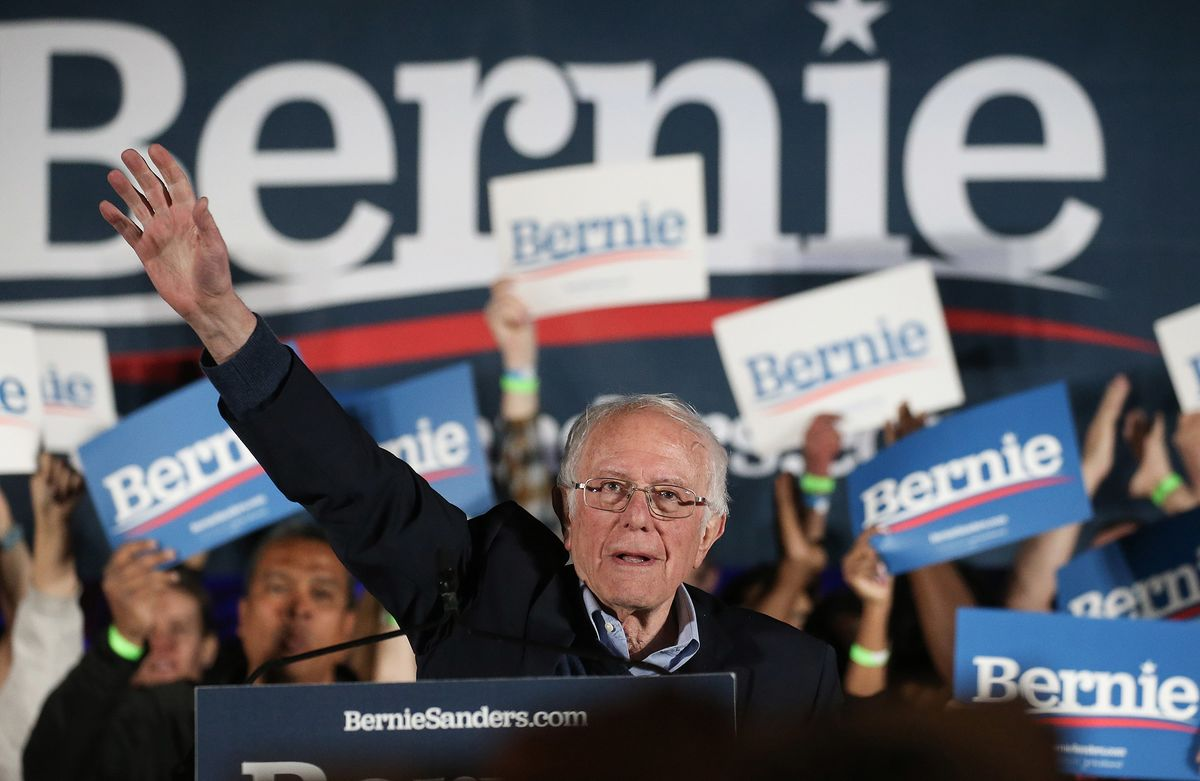 Bernie Sanders Looks to Cement Front-Runner Status in Nevada Vote