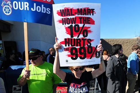 Wal-Mart Workers Plan a Fresh Protest, This Time in Bentonville