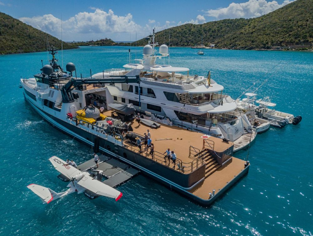 A 50 Million Boat For The Toys You Can T Fit On Your Yacht Bloomberg