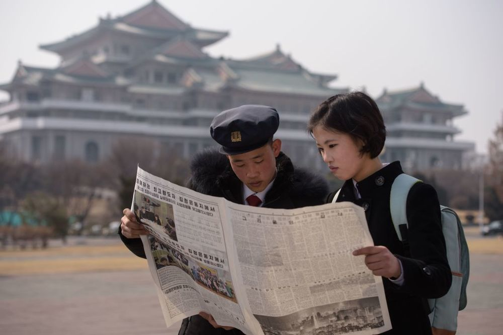Newspaper Readers Winter Dilemma >> North Korea S Economy Is Growing More Capitalist Bloomberg
