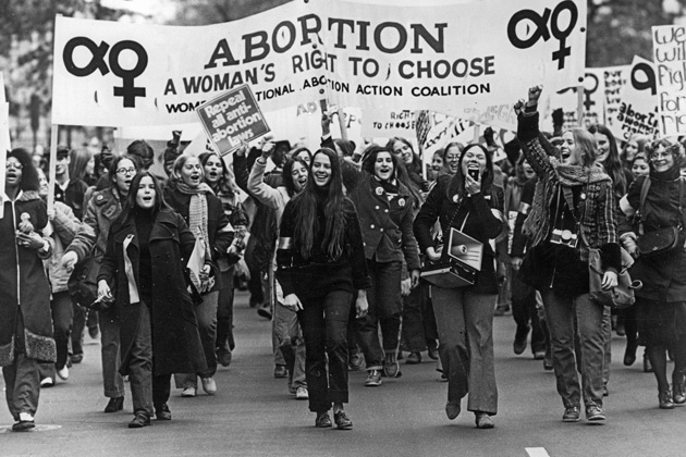 "abortion is a womans right Kate michelman, former president of naral, says: ""we have to remind people that abortion is the guar­antor of a woman's right to participate fully in the social and political life of."