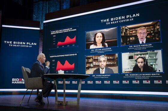 Biden Virus Advisers Say a National Lockdown Isn't on Agenda