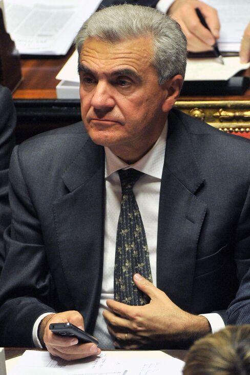 Italy's Health Minister Renato Balduzzi