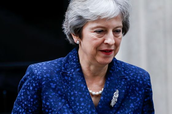May Survives Meeting With Tory Lawmakers on Her Brexit Plan
