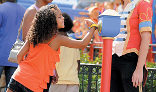 Disney's bands, which allow guests to reserve rides and charge goods, also track user patterns