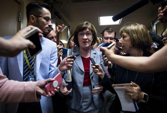 Four Key Undecided Senators Meet Privately on Kavanaugh Vote