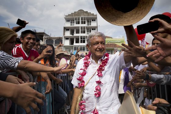 'Listen, Trump': Firebrand Lopez Obrador Set to Win Landslide in Mexico