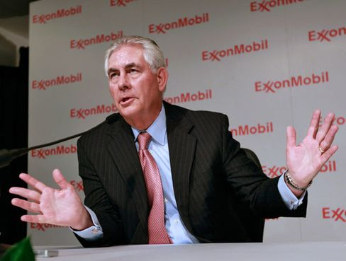 Rex Tillerson, Chief Executive Officer of Exxon Mobil