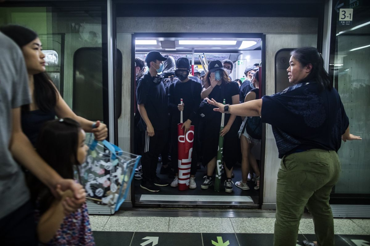 Hong Kong's MTR Passenger Traffic Hit By Protests, Chairman Says