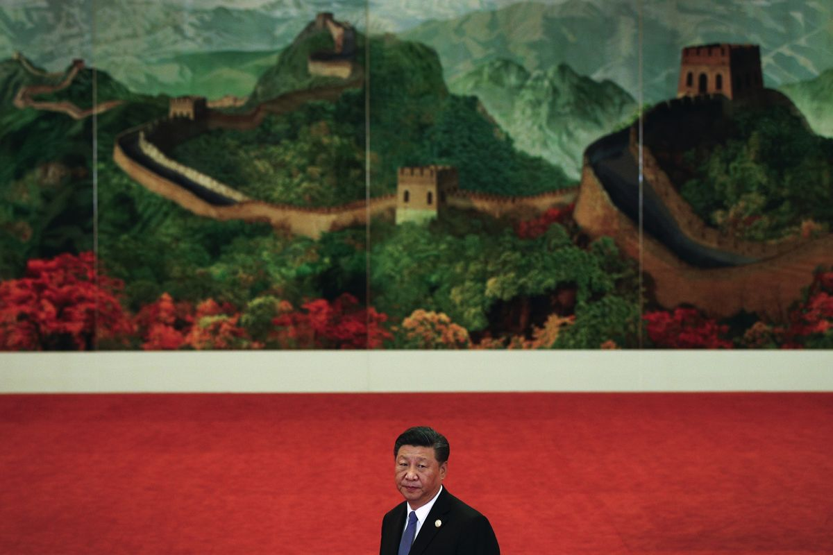 China's 'Great Wall of Steel' Isn't Just Idle Talk
