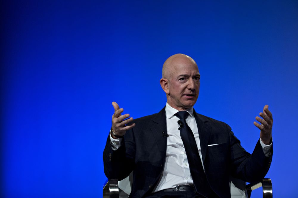 Amazon's Deep Bench Calms Investors Despite Bezos Scandal, NYC Rift