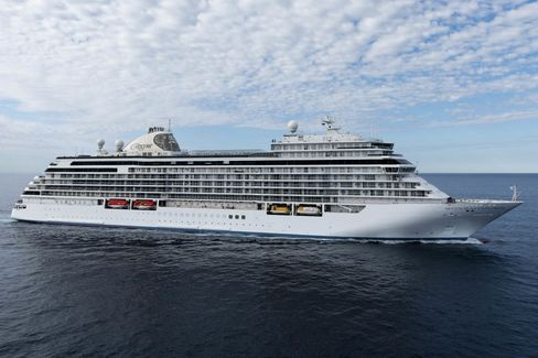 The Regent Seven Seas Explorer.