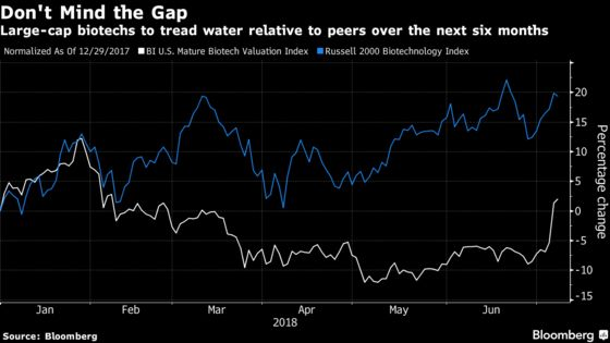 Large-Cap Biotech Stocks Will Just Tread Water as Sector Sizzles