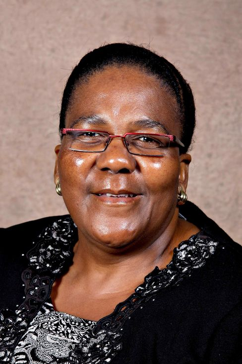 South Africa's Energy Minister Dipuo Peters