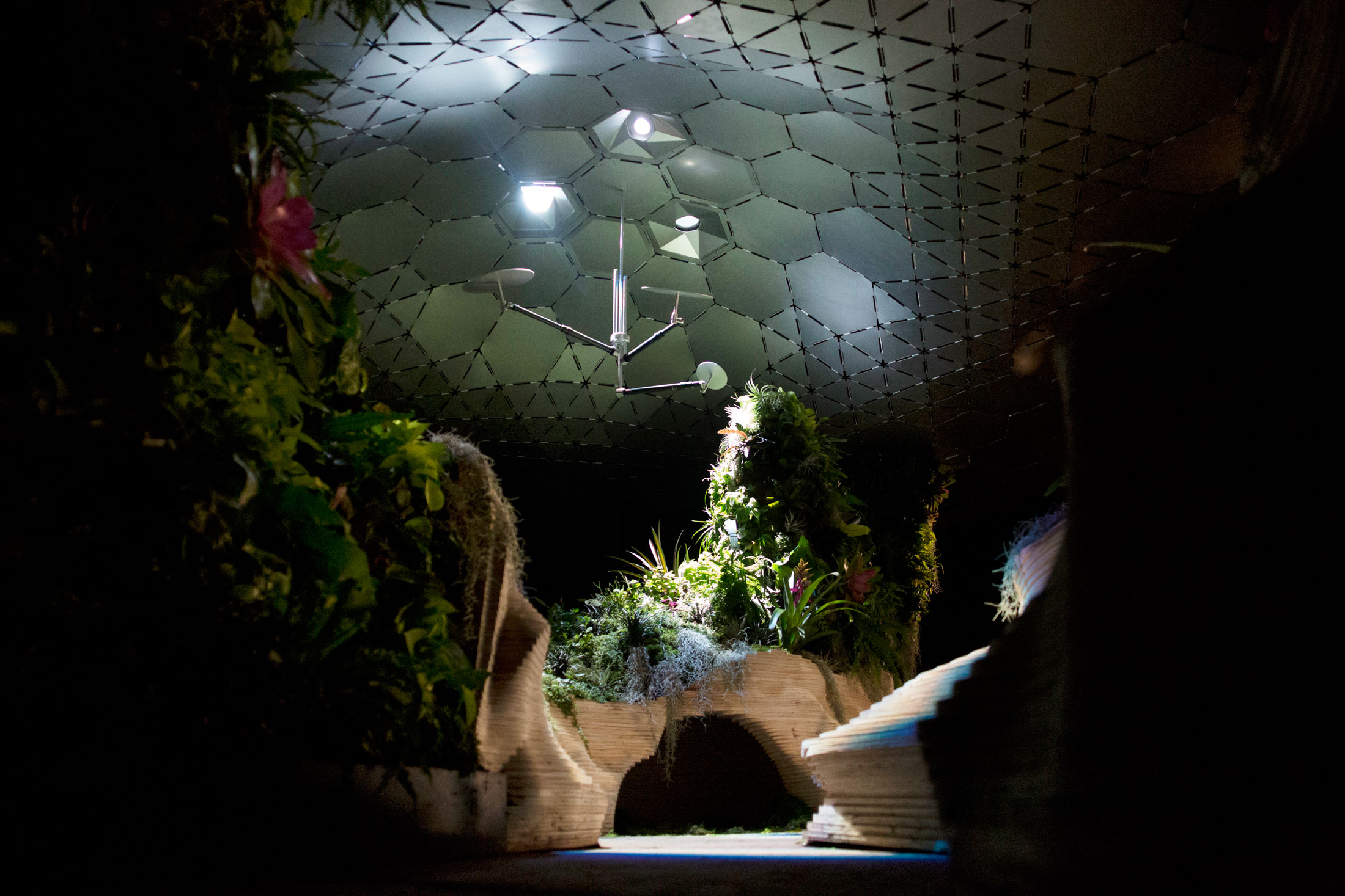 The Lowline Park Experimental Lab in New York