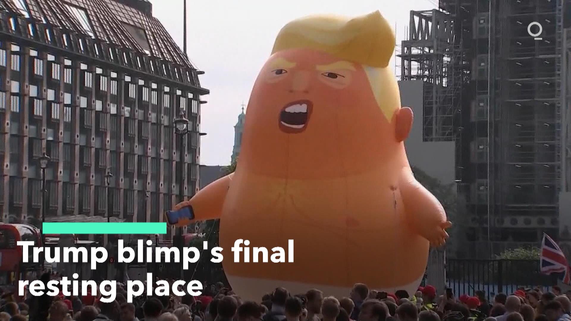 Trump Baby Balloon Headed To Museum