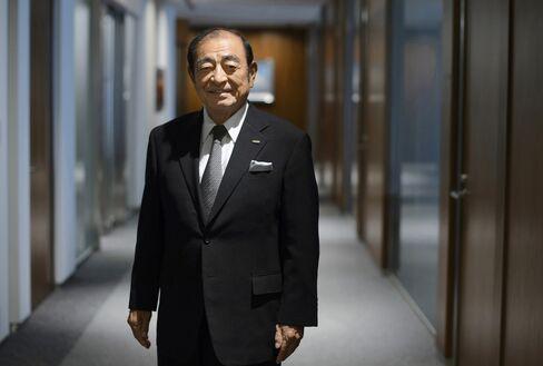 Fujifilm Corp. Chairman Shigetaka Komori. Photographer: Akio Kon/Bloomberg
