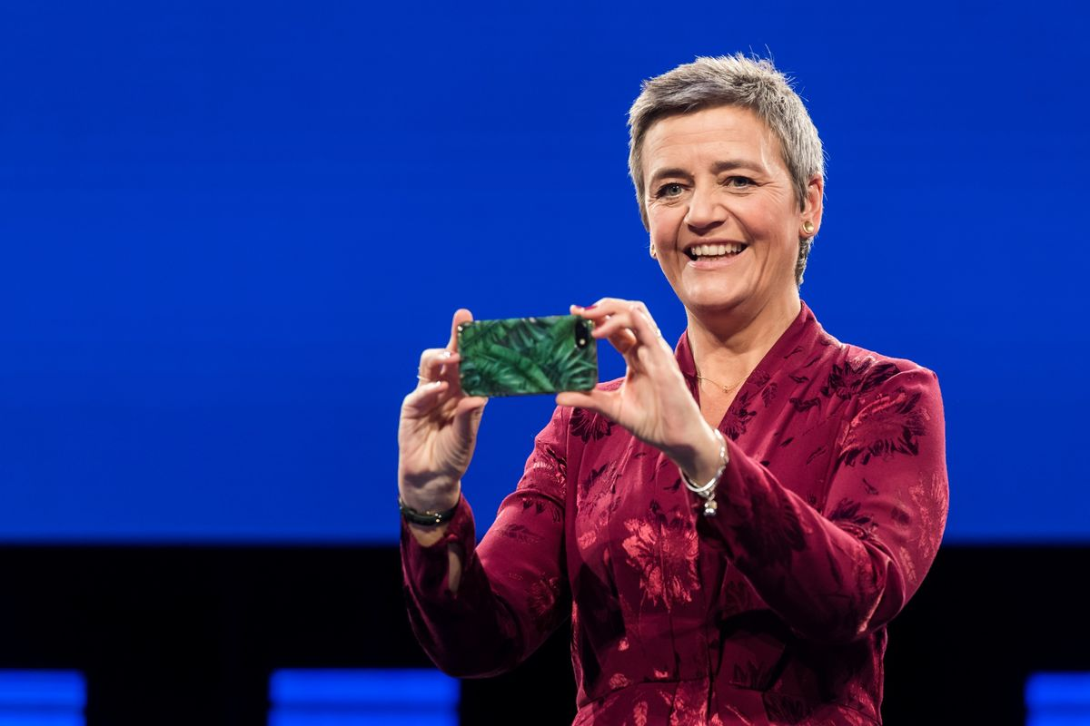 Vestager's Biggest Hits (So Far) as Second Antitrust Term Awaits