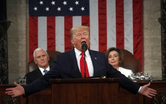 Trump Avoids Impeachment in Speech, But Pelosi Tension Is Clear