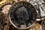 New British one pound coins