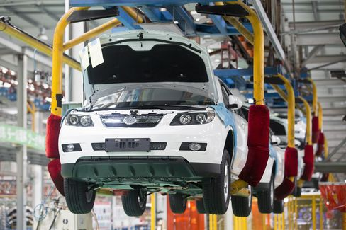 BYD Co.'s Sport-Utility Vehicles