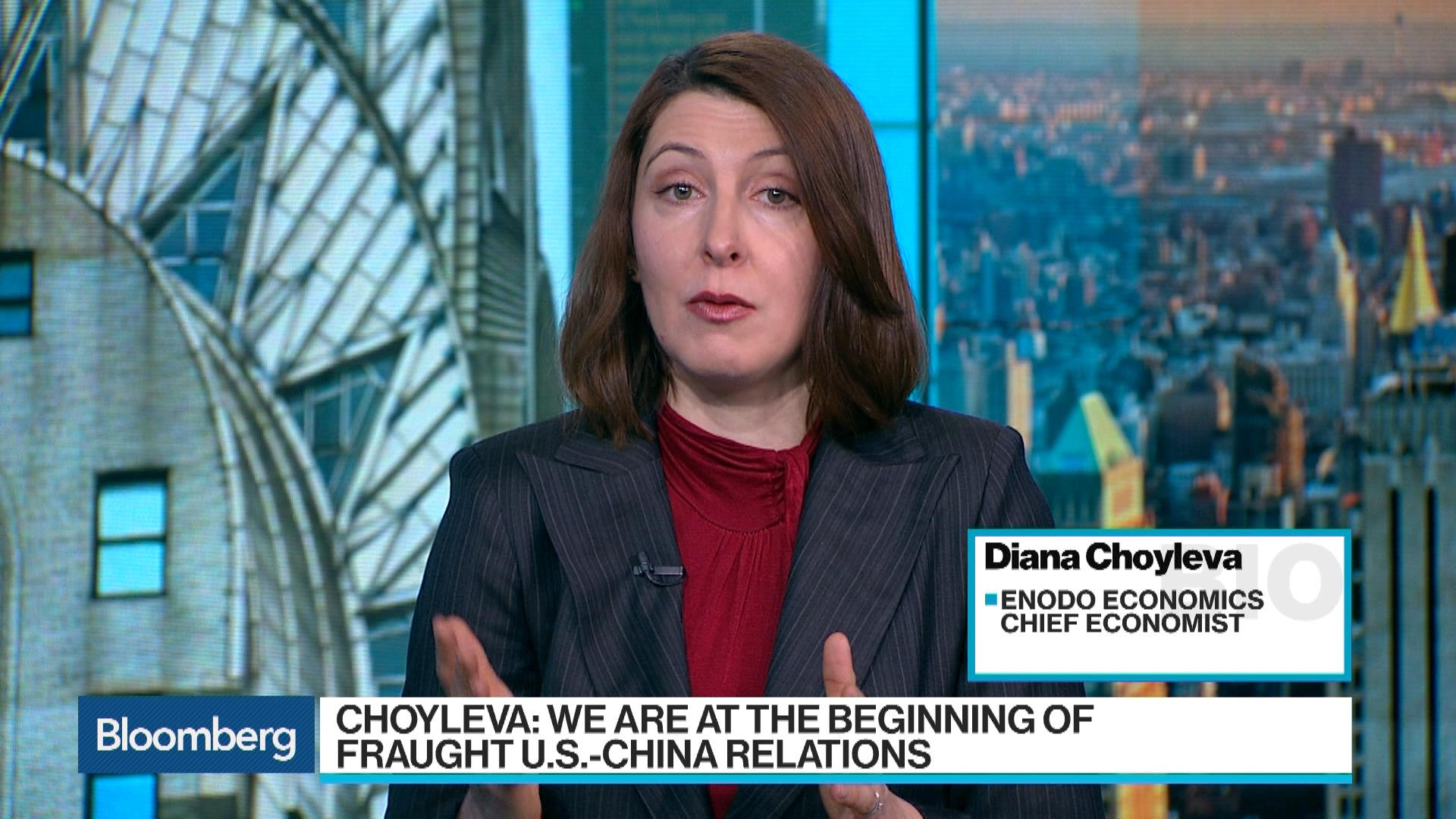 Diana Choyleva Says Globalization Has Been All About Including China