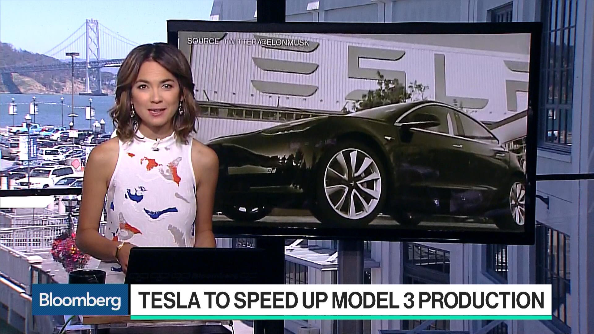 Tesla to Speed Up Model 3 Production - Bloomberg