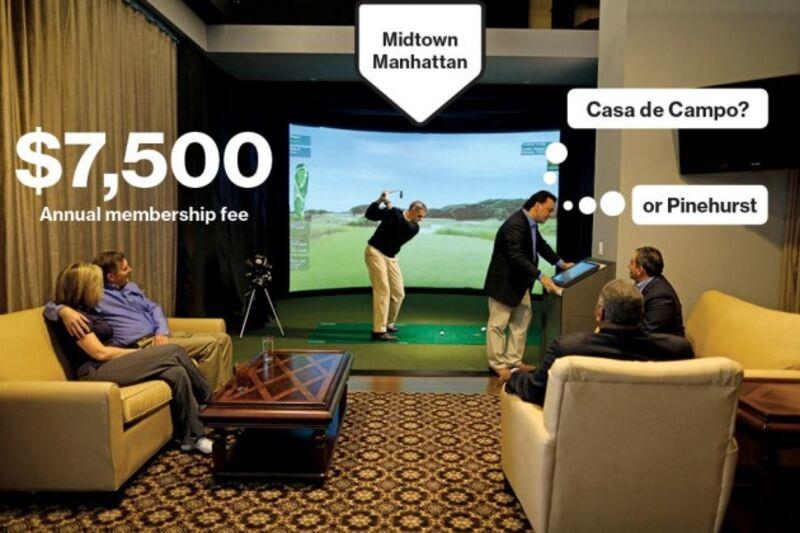 Golf Bodys Simulators Can Mimic Conditions At 30 Top Notch Courses
