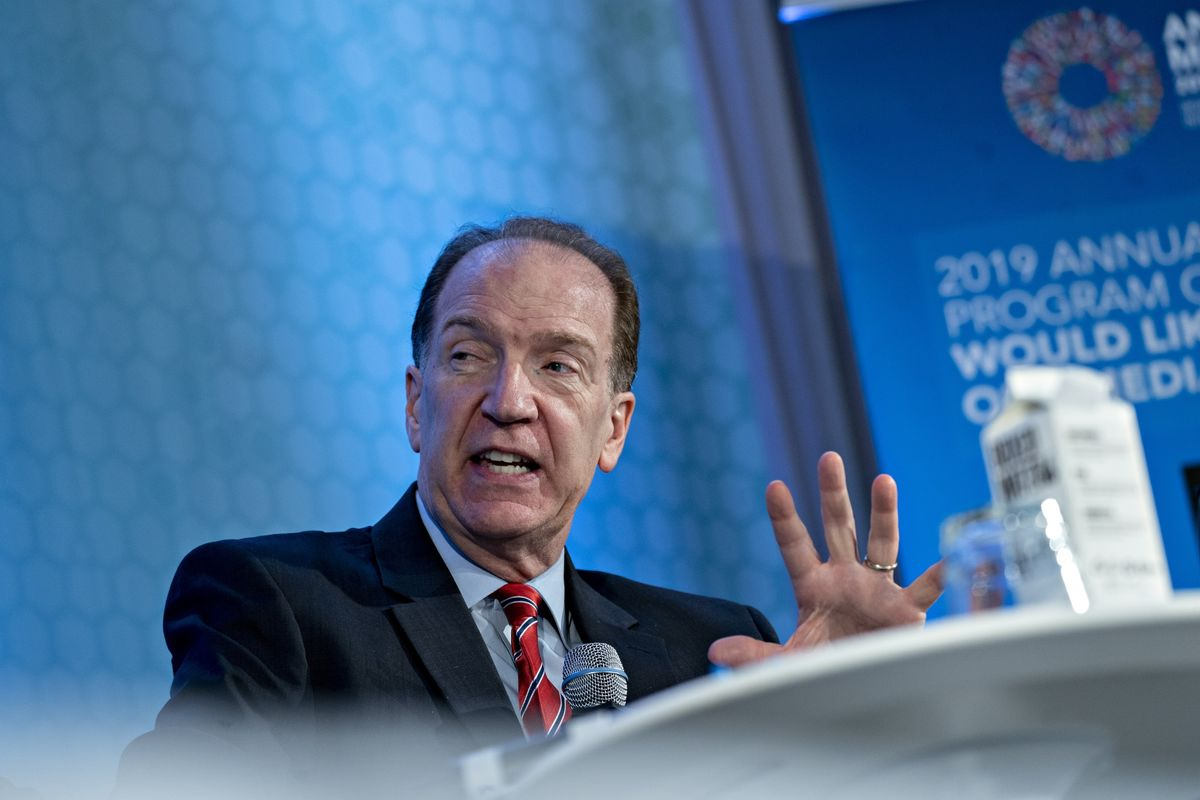 Brexit, Trade May Further Depress World Outlook, Malpass Says