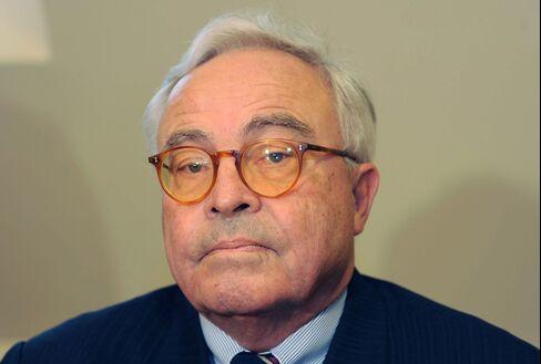 Former Deutsche Bank Chief Executive Officer Rolf Breuer
