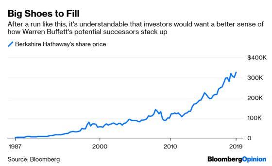 Berkshire's Buffett Show Makes Way for the Next Act