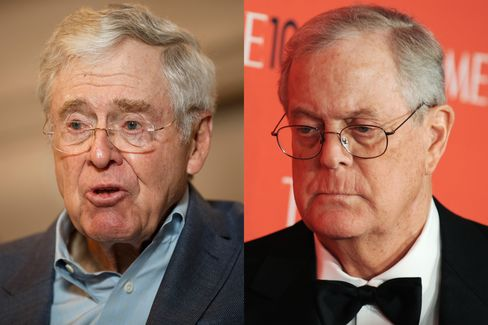 The koch brothers have started a new family office to for Charles und david koch