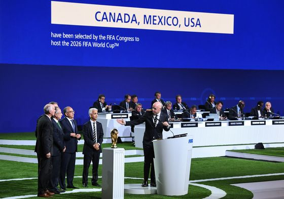 U.S., Canada, Mexico Unite Long Enough to Win 2026 World Cup Bid