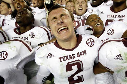 Johnny Football Seeks Trademark While NCAA Handcuffs Family Use