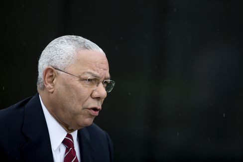 Interview With Colin Powell, Former U.S. Secretary Of State