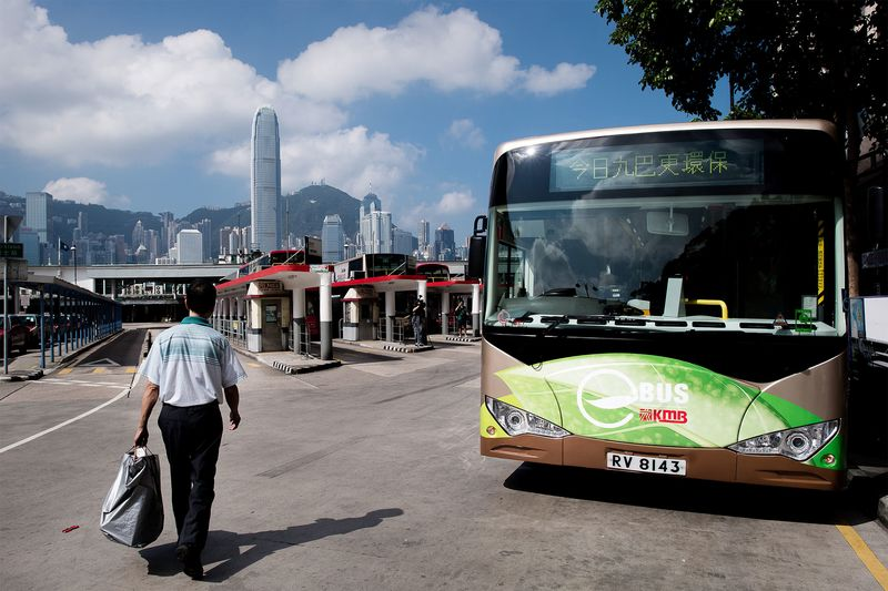 HONG KONG-POLLUTION-ENVIRONMENT-BUS