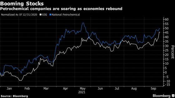 Saudi Petrochemical Rivals Merge to Create $11 Billion Company