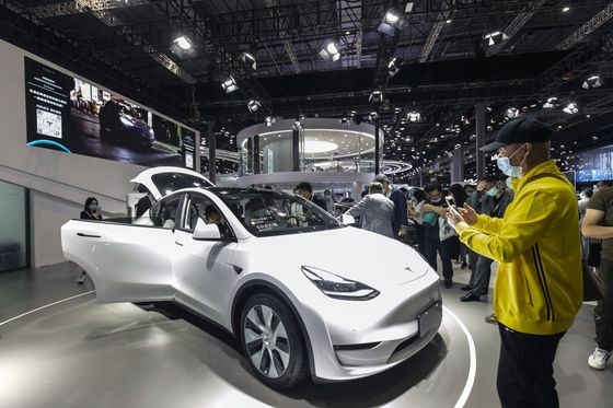 Tesla Unveils Much Cheaper Model Y in China After Months of Bad Press