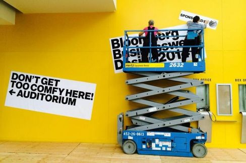 Live Updates from Bloomberg Businessweek Design 2014