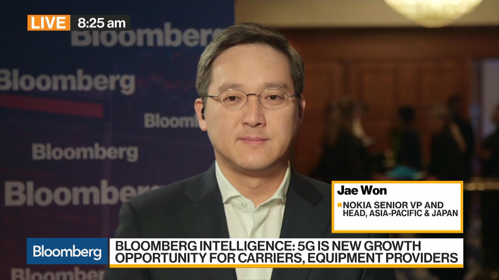 Jae Won, Head of Asia Pacific and Japan at Nokia, on 5G, Strategy