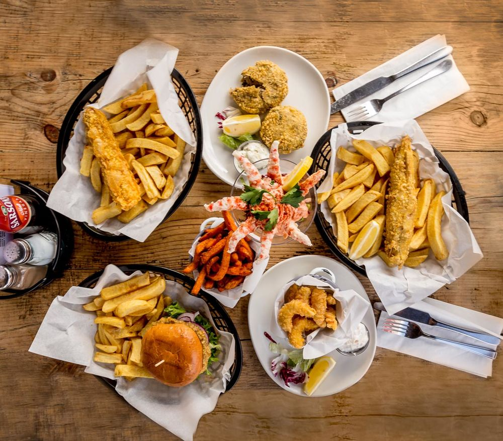 Sutton And Sons Vegan Fish And Chip Shop Opens In London