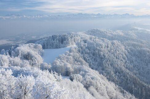 Uetliberg Mountain.