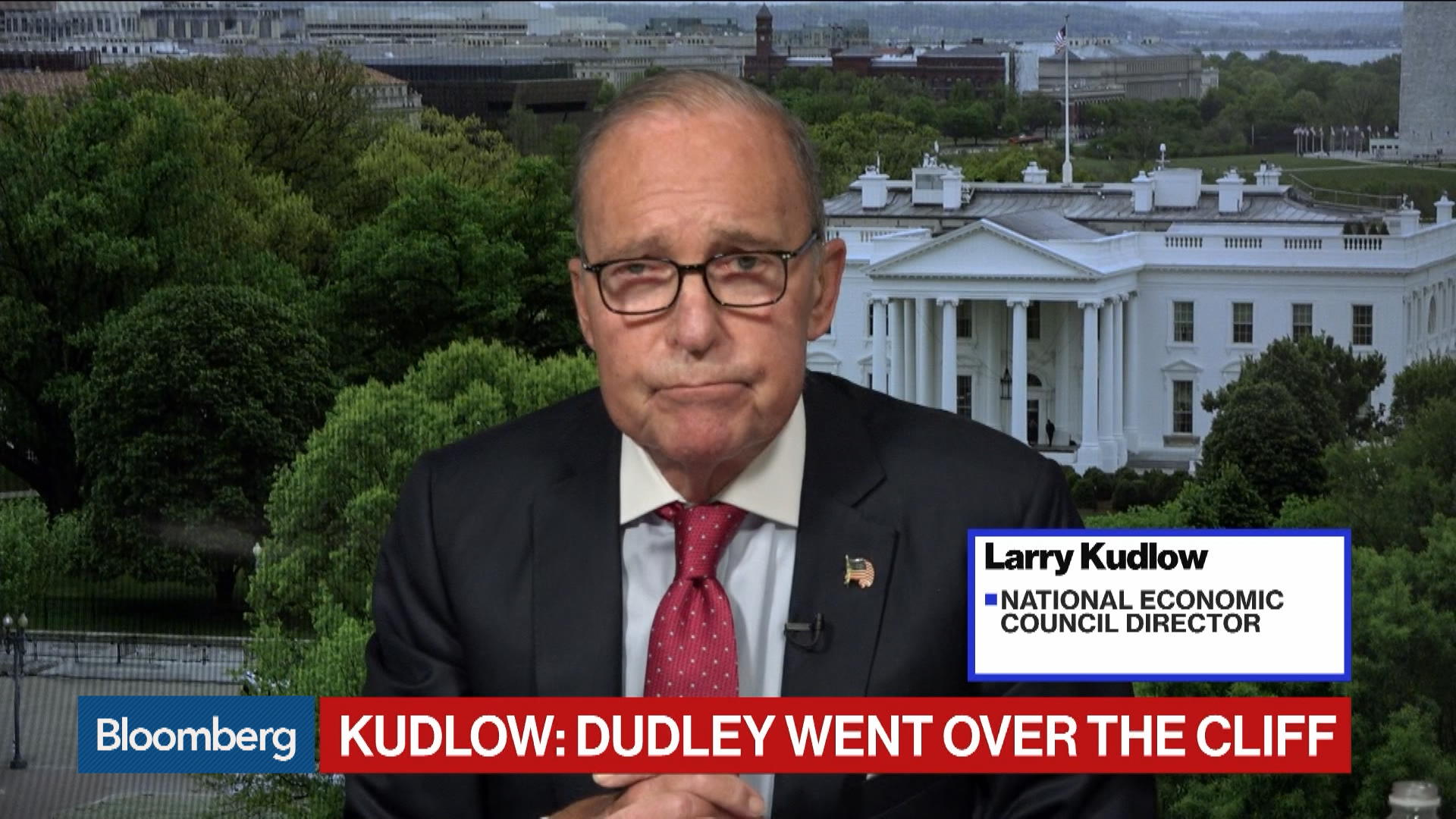 Larry Kudlow: Bill Dudley Went 'Over the Cliff' in Comments on Fed