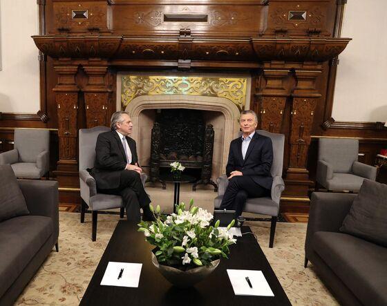 Argentina's Alberto Fernandez Has Olive Branch Coffee Meeting With Macri