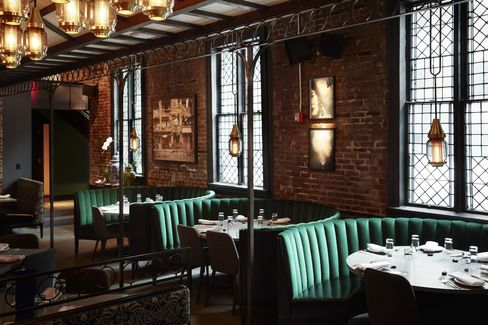 Jue Lan Club opened last year in the former Limelight club space, a converted Episcopal church in Manhattan's Chelsea.