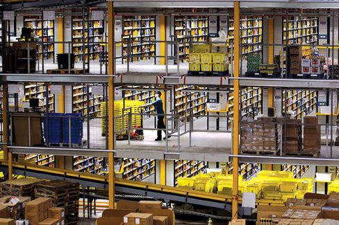 Why Amazon Is on a Warehouse Building Spree